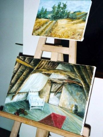 Góc tranh sơn dầu