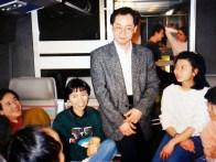Trong TGV, có cả Bá Sơn tham gia chuyến Nam du