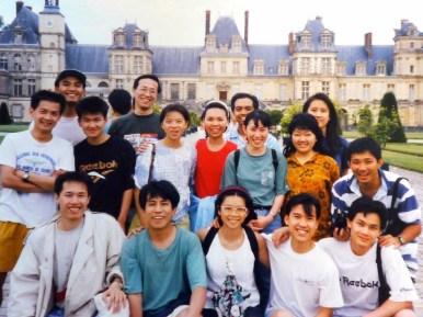 1995-07-01 : Trại hè Fontainebleau