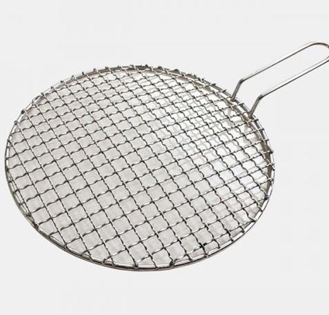 Vỉ lưới inox304 cho bếp nướng âm bàn BBQ- có tay cầm