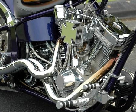 motociklu dalys