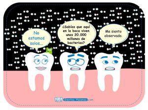 ¿Sabías que en la boca viven unos 20.000 millones de bacterias?