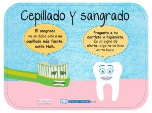 El sangrado con el cepillado puede indicar que algo no va bien en tu boca