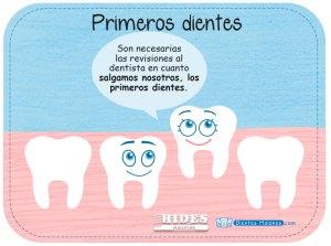 Los primeros dientes