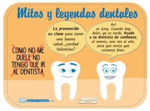 Mito y leyenda dental: como no me duele no tengo que ir al dentista