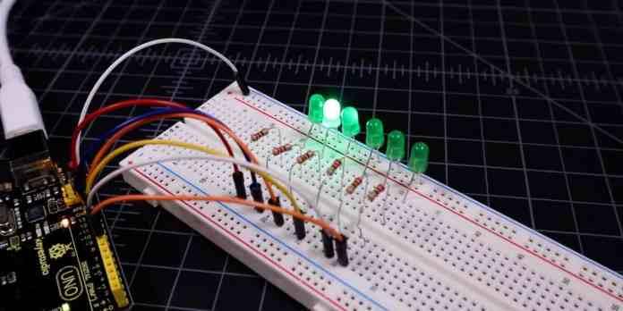 Điều khiển LED dùng Arduino