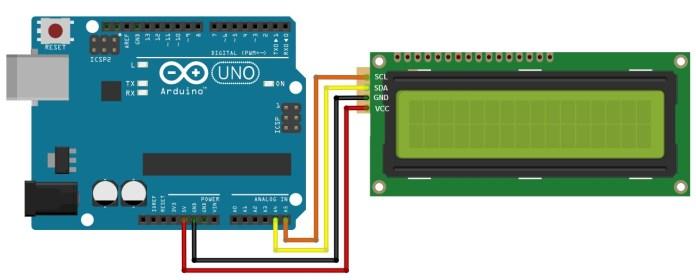 Giao tiếp LCD và Arduino