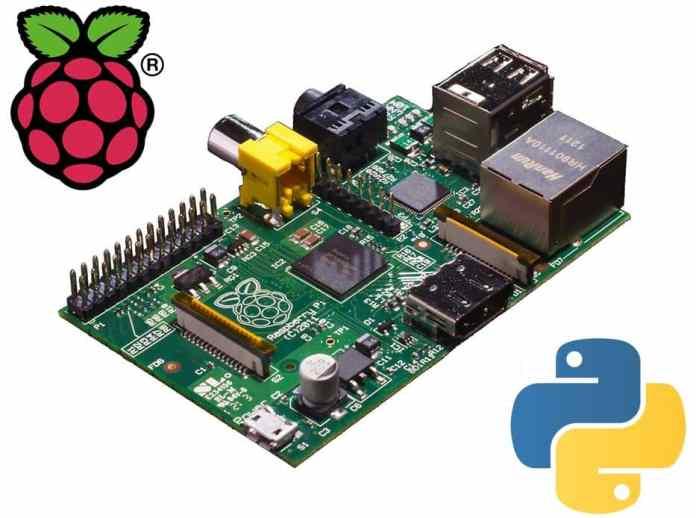 Viết chương trình python trên Raspberry Pi