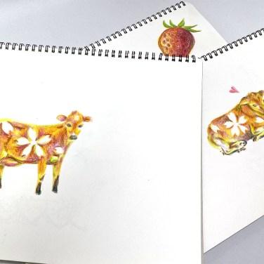 岡山県真庭市、酪農家の手作りジェラート醍醐桜 by DieodeDesign