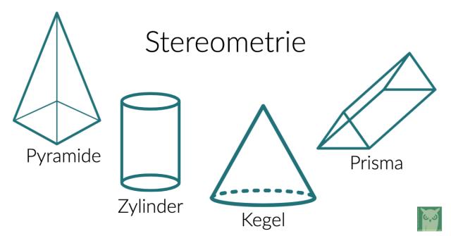 stereometrie volumen oberfläche berechnung lernen