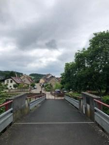 La pont du passeur ; die alte Fährmannsbrücke