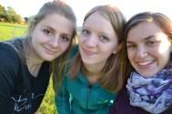 Silvia, Olivia, und ich!