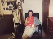 Last day of chemo 2002