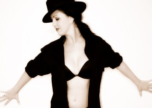 Lady in Black the perfect breast