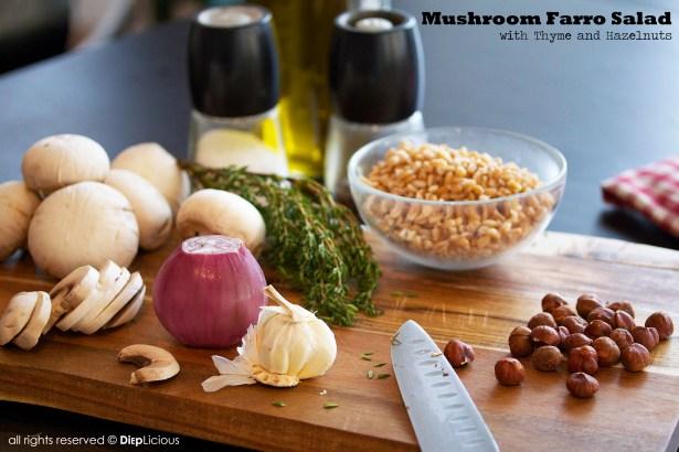 Mushroom farro salad3
