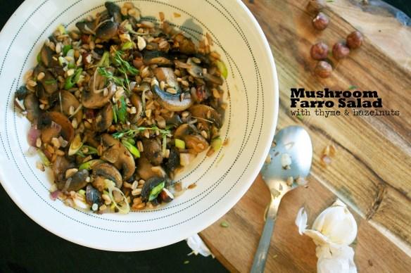 Mushroom farro salad4