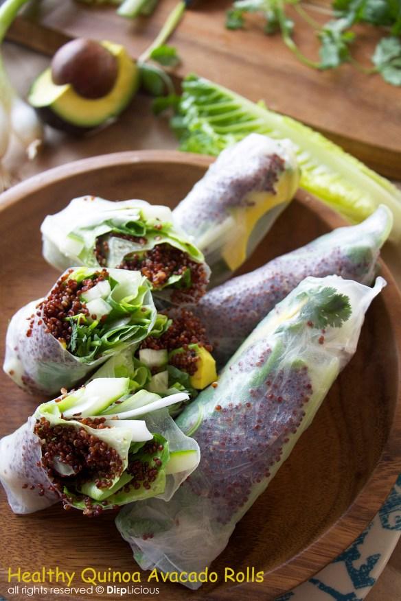 Quinoa avocado roll_T