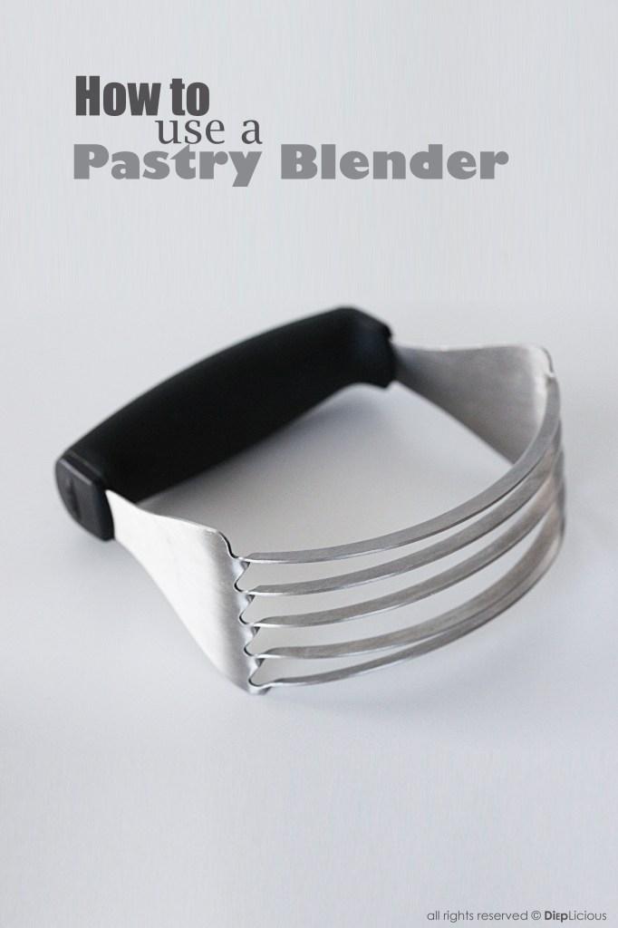 Pastry-blender