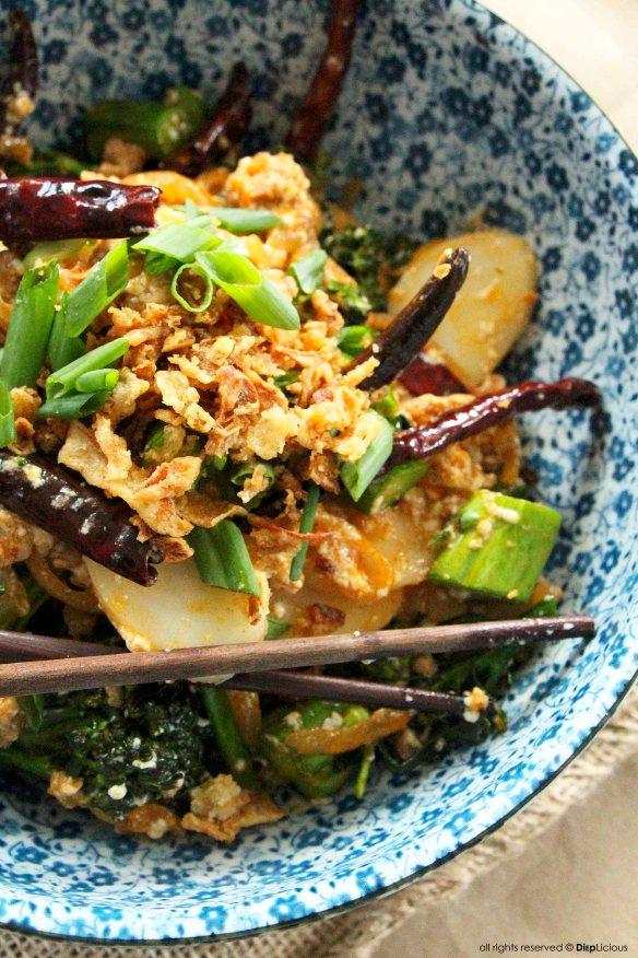 spicy pork sasuage