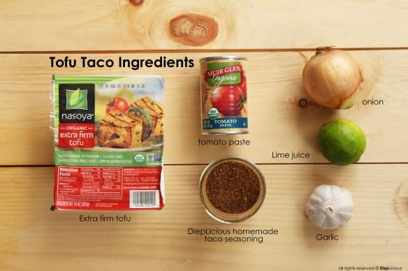 tofu taco ingredients