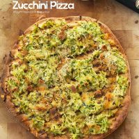 PAN GRILLED ZUCCHINI PIZZA