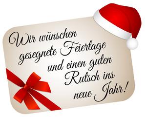 Wir Wünschen Euch Frohe Weihnachten Und Einen Guten Rutsch.Frohe Weihnachten Und Einen Guten Rutsch Ins Neue Jahr Die Produkt