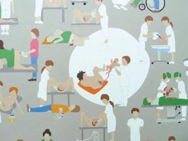 Ein Szenario von vielen schönen Details zur Ankunft – Terri Frühling. Bild: Baby Sucess Club