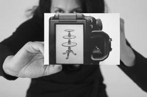 """""""Im Wechsel der Elemente neben Texten auch eine Bilderfolge"""": Christian Steinbacher hat Elisa Andessner eingeladen, eine eigenständige Bildserie im Buch zu gestalten. Foto Elisa Andessner"""