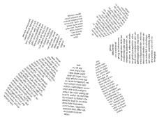 Ebenfalls in den LOGOtheSEN: Wortbilder und Wortzeichnungen von Herbert Christian Stöger. Foto Herbert Christian Stöger