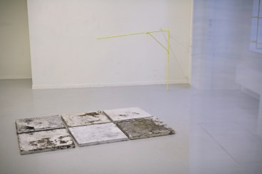 I Follow, Konglomerat L: Ausstellungsansicht (Ausschnitt), März 2019. Foto Christel Kiesel