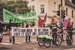 Extinction Rebellion: Rebellion der Tropfen, Graz. Foto Extinction Rebellion Österreich