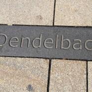 Der Dendelbach fließt hier unter der Fußgängerzone Wiesbadens