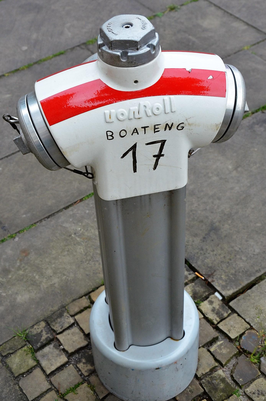 Hydrant im neuen EM Design