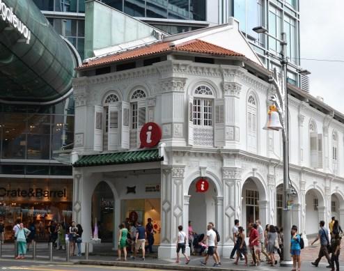 Tourist Info Singapur