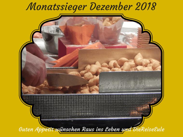 Monatssieger Dezember 2018