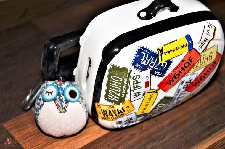 DieReiseEule und ihr Koffer