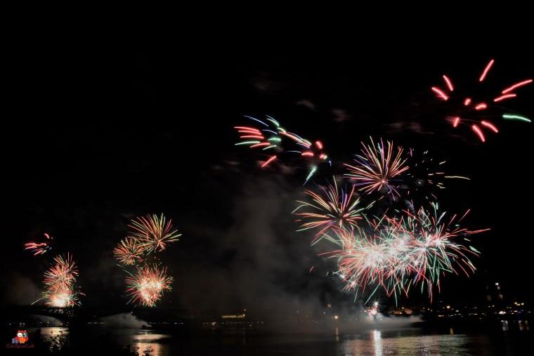 Mainzer Sommerlichter Feuerwerk
