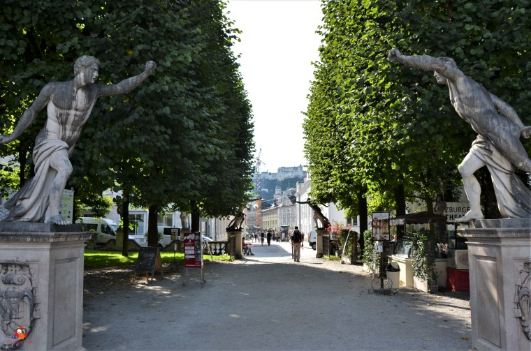 Skulpturen im Schlosspark Mirabell