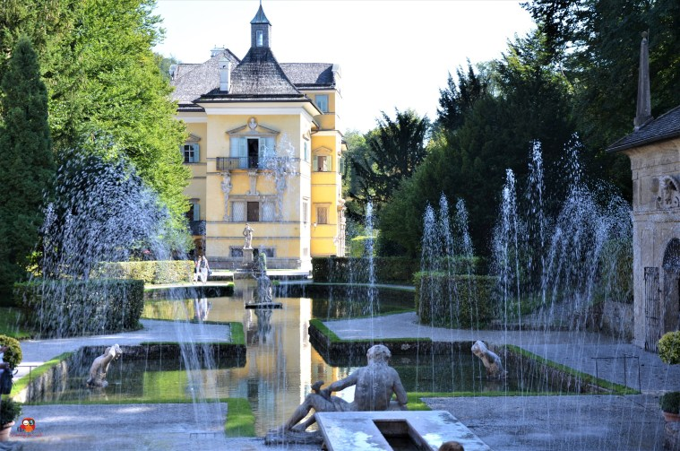 Wasserspiele des Schloss Hellbrunn