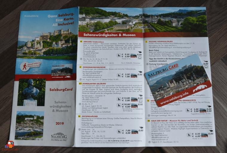 Salzburg Card und Beiheft
