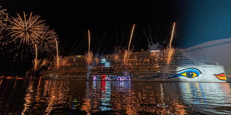 Schiffstaufe AIDA nova, Foto: AIDA Cruises