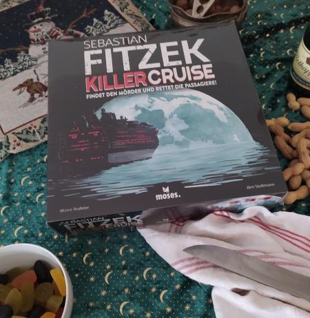 Killercruise, findet den Mörder und rettet die Passagiere! Kreuzfahrtspiel von Sebastian Fitzek und Marco Teubner