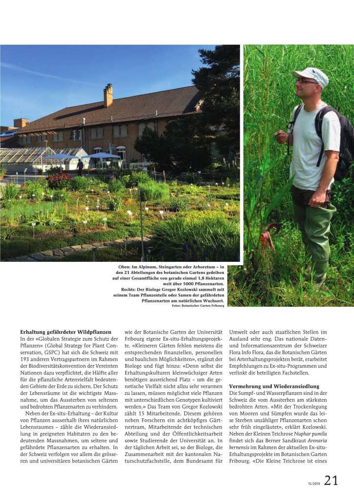 Das leise Sterben der Schweizer Flora 2