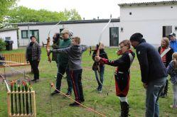 Probe: Der Bogensport erfreut sich bei Groß und Klein einer immer größeren Beliebtheit.