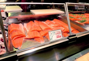 Lachsfilet in Helsinki für Die See kocht Segel-Rezept