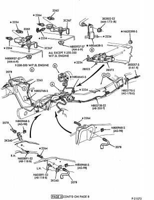 1986 Ford F700 Truck Wiring Diagrams 1986 Ford Bronco II