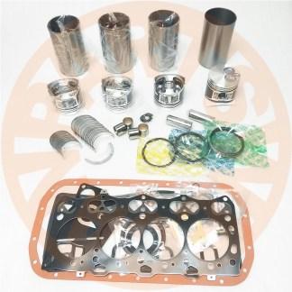 ISUZU 4LE1 ENGINE OVERHAUL REBUILD KIT JCB 8040 8045 8050 8060 EXCAVATOR AFTERMARKET PARTS 1
