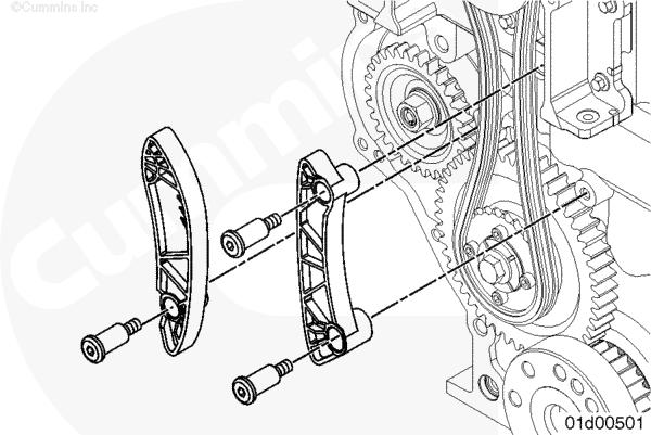 (ru119-001-109-shopas) Направляющие цепи привода верхнего