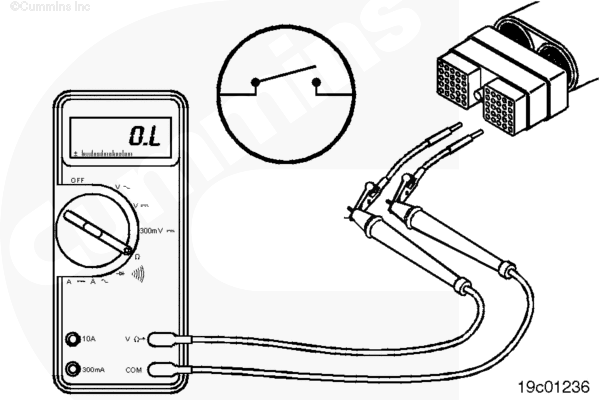 (ru99-019-090) Цифровой вход датчика скорости