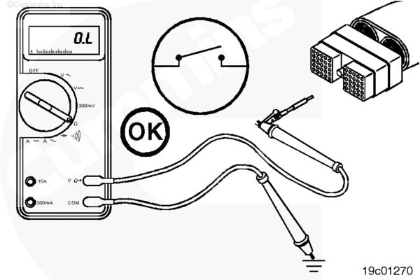 (ru99-019-165) Цепь канала связи SAE J1939